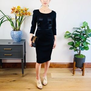 NEW Club Monaco black dress